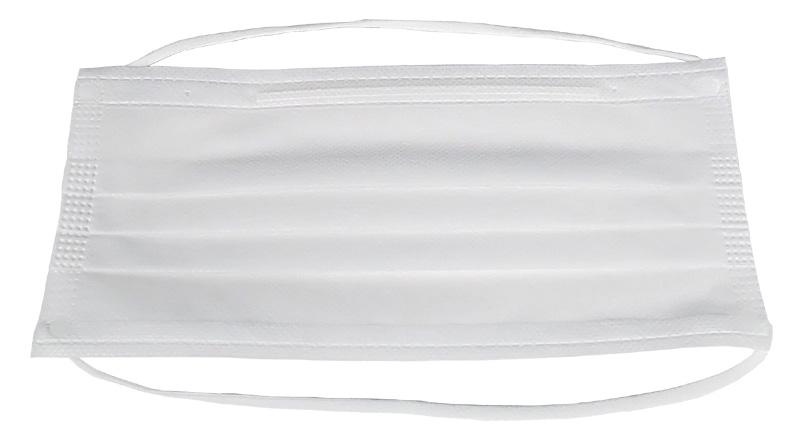 2PLY不織布マスク横長ワイドタイプ